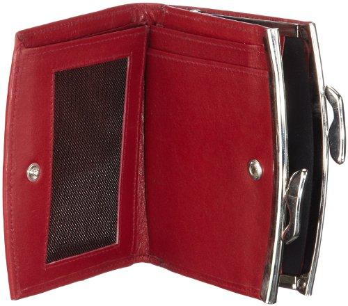 Maitre Milia 4900000216 Damen Geldbörsen 11x10x1 cm (B x H x T) Rot (Red)