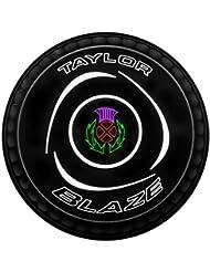 Taylor Blaze Premier agarre nivel de negro verde césped cuencos conjunto de 4, 4