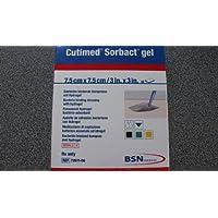 Cutimed Sorbact gel 7,5cm x 7,5cm; 10 Stück preisvergleich bei billige-tabletten.eu