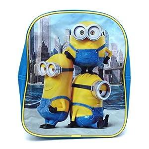 51DUFj8UYKL. SS300  - Minions Despicable Me Kids Backpack/ School Bag
