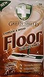 60salviette per superfici in laminato e pavimenti in legno/2confezioni da 30