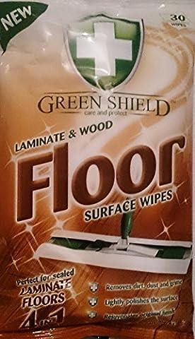 60stratifié et parquet Surface Lingettes/2packs 30