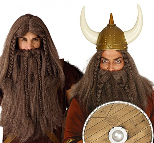 Fiestas Guirca GUI4809 - Vikinger Perücke und (Perücke Wikinger)