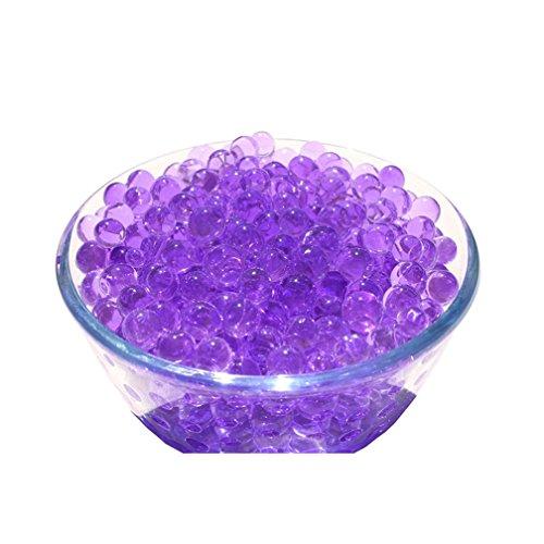 Good01 1000-pcs transparent, wiederverwendbar Wasser Gel Perlen, Kristall, -, Möbel-Deko Vase Filler, violett, 1000Pcs