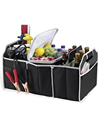 Cf Foldable Car Organizer/Car Trunk Organizer/ Boot Organiser For Picnic Party Shopping Heavy Duty Collapsible...
