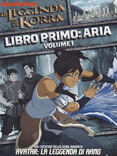 La Leggenda Di Korra - Libro Primo: Aria - Volume 1 (Dvd)