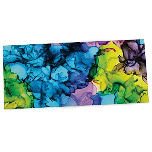 kess-inhouse-claire-day-mermaids-blue-paint-office-desk-mat-blotter-pad-mousepad-13-x-22-inches-by-k