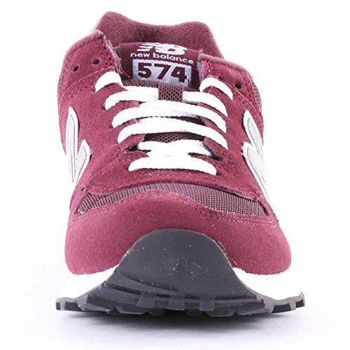 New Balance M_w574, Scarpe da Ginnastica Unisex Adulto Rosso