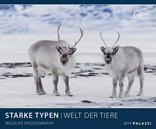 STARKE TYPEN 2019: WELT DER TIERE - lustige Tier-Motive - Bildkalender 60 x 50 cm