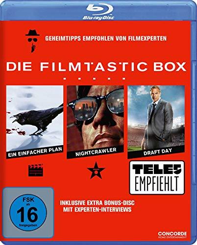 Die Filmtastic-Box (Ein einfacher Plan, Nightcrawler und Draft Day plus Extra Disc in einer Box) (exklusiv bei Amazon.de) [Blu-ray]