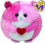 Ty Beanie Ball - Hamster mit Herz rosa 12 cm