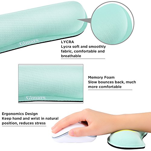 Zoom IMG-3 gimars cuscini poggiapolsi per mouse