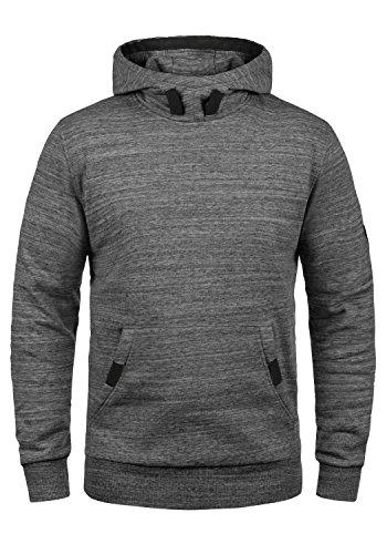 !Solid Orbit Herren Kapuzenpullover Hoodie Pullover Mit Kapuze, Größe:XL, Farbe:Grey Melange (8236)