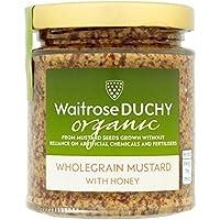 Duchy Organic Ducado Mostaza En Grano Orgánico Original Con 170g De Miel (Paquete de 2)