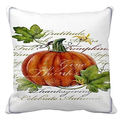 FeiliandaJJ ,Halloween Decorative Kissenbezug Wohnzimmer 45x45cm,Kissenhülle Pumpkin Lantern Decorative Pillowcases Sofa Bed Home deko Pillows Cover Super weich Taille Wurf Kissenbezüge (H)