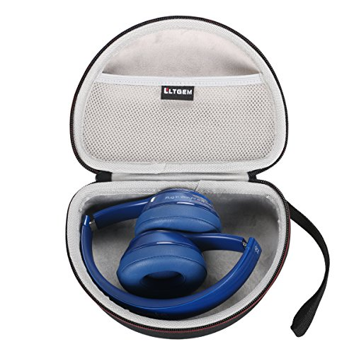 LTGEM EVA Hard Case Travel Carrying Pouch Cover Storage Bag für Beats by Dr. Dre Solo2 / Solo3 Wireless On-Ear Kopfhörer Headphones (Bag Beat)