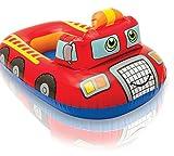 Kinderboot Boot Gummiboot Schlauchboot für Pool Schwimmbad Feuerwehr Auto
