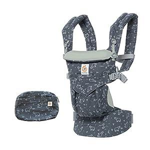 Ergobaby Baby Carrier Backpack for Newborn to Toddler, 4-Position Omni 360 Trunks Up, Ergonomic Child Carrier   11