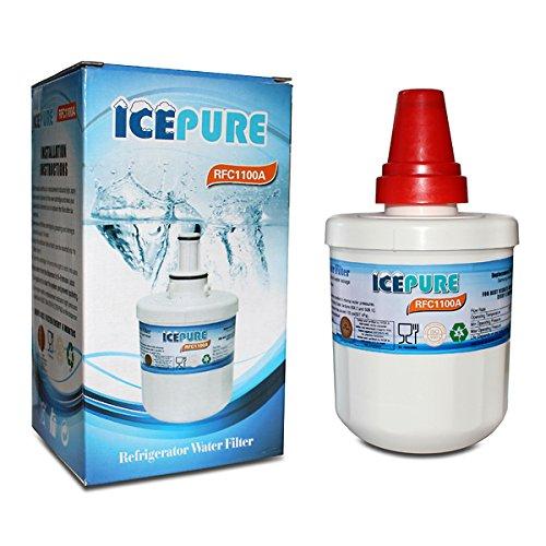 Cartucho de filtro de agua de hielo de repuesto compatible con nevera...