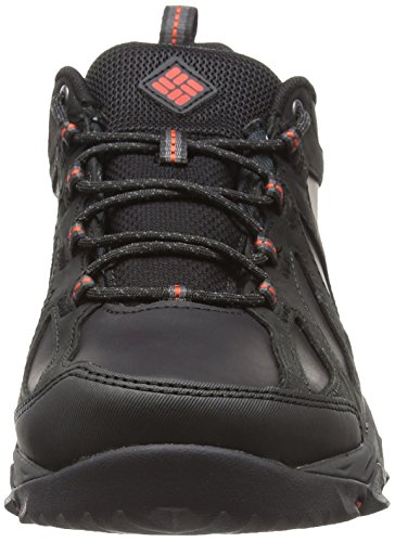 Columbia Peakfreak Xcrsn Ii Low Leather Outdry, Scarpe Sportive Outdoor Uomo Nero (Black/ Super Sonic)