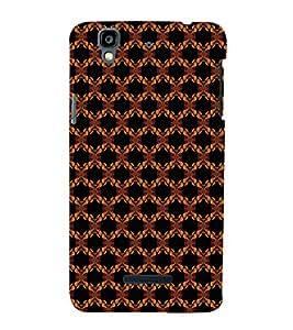 EPICCASE flowery knots Mobile Back Case Cover For YU Yureka Plus (Designer Case)