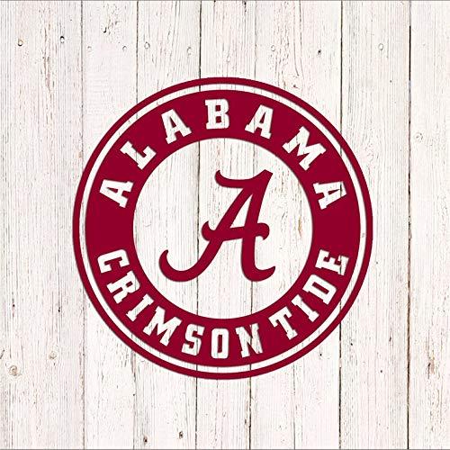 Celycasy Alabama Aufkleber, Alabama Crimson Tide Decal, Vinyl-Aufkleber, Auto-Aufkleber, Sport-Auto-Aufkleber, Fußball-Aufkleber, Yeti Tumbler Aufkleber Alabama Crimson Tide Laptop