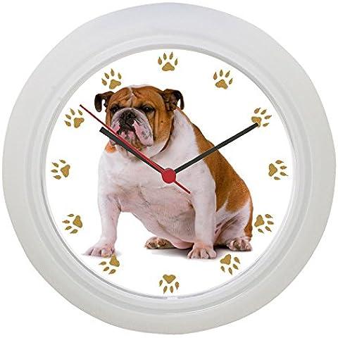 Orologio da parete Bulldog inglese