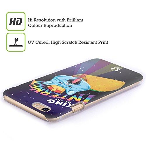Head Case Designs Orsi Dipinti Rupestri Cover Retro Rigida per Apple iPhone 7 Plus / 8 Plus King Of The Internet