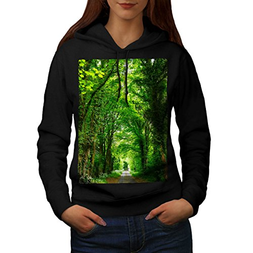 green-forest-road-venice-boat-women-new-black-xl-hoodie-wellcoda