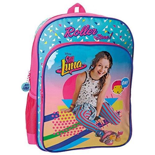 Imagen de disney 4852351 soy luna roller zone  escolar, 40 cm, 15.6 litros, multicolor