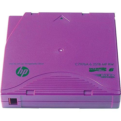 HP 20 x LTO Ultrium 6 – 2.5 TB / 6.25 TB – Mit Strichcodeetikett - 2