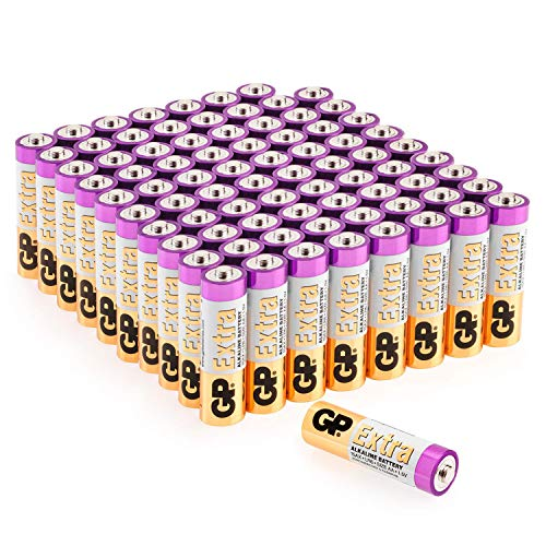 tterien AA Mignon 80 Stück Vorrats-Pack, ideal für die Stromversorgung von Geräten des täglichen Bedarfs (Briefkasten-geeignete Verpackung) ()