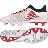 adidas X 17.3 SG, Scarpe da Calcio Uomo, Bianco Ftwwht/Reacor/Cblack, 40 2/3 EU
