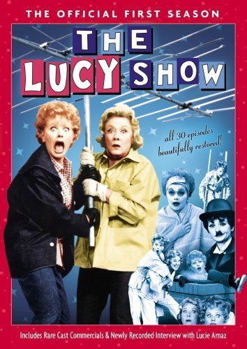 The Lucy Show: The Official First Season by Lucille Ball