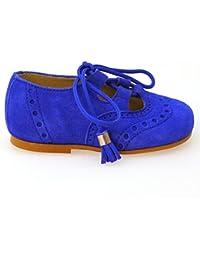 Zapatos Primeros Pasos Ingleses Pepitos Clarys 0790 Azulon