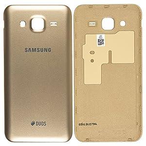 Original Samsung Akkudeckel gold für Samsung J500F Galaxy J5 DUOS - (Akkufachdeckel, Batterieabdeckung, Rückseite, Back-Cover) - GH98-37820B