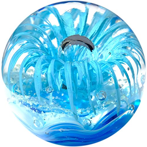 Kaltner Präsente Traumkugel Glaskugel Briefbeschwerer Kugel aus Glas