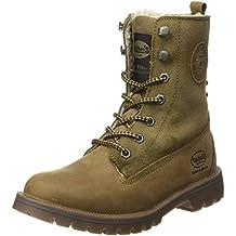 Dockers Damen Stiefel Winterstiefel Boots 41hl303350850//850 Grün Khaki Neu