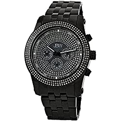 "Just Bling Herren JB-6219-270-C ""Krypton"" 2,5 Karat Diamant Chronograph"