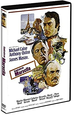 The Marseille Contract (1974, aka The Destructors) - Official Region Free PAL release by Michael Caine
