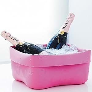 Flexible washing-up bowl pink