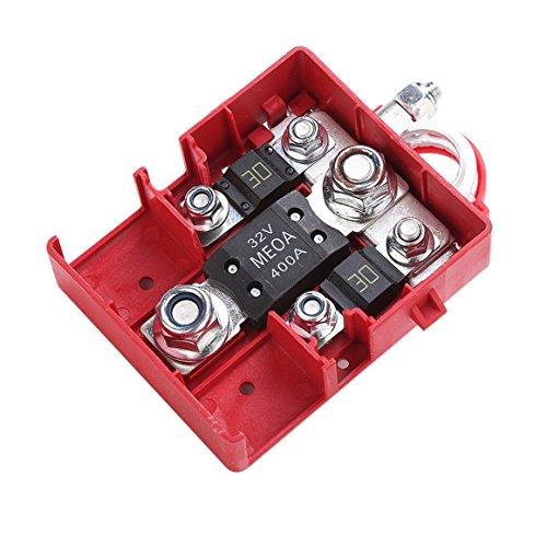 Preisvergleich Produktbild Funnrunstore-Auto-verschmolzene Batterie-Verteiler-Anschluss-Verbindungsstück-Klemmen 32V 400A schnell freigebende Batterie-Klemmen für Auto-Wohnwagen