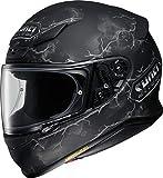 Casco Moto Shoei Nxr Ruts Tc-5 Negro (L , Negro)