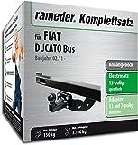 RAMEDER Komplettsatz, Anhängebock mit 4-Loch-Flanschkugel + 13pol Elektrik für FIAT DUCATO Bus (142351-05630-1)