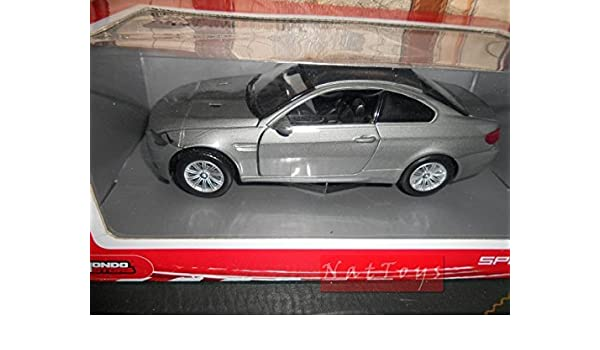 Mondo Motors MM51048 BMW M3 Coup' Silver 1:24 MODELLINO DIE