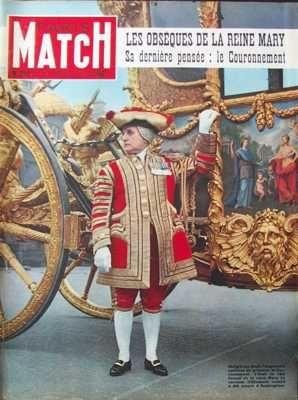 PARIS MATCH [No 212] du 04/04/1953 - BERLIN CHARLOTTE DE