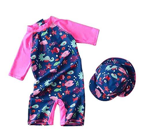 Baby Bademode Baby Bikini Kleinkind Mädchen Bademode [Q]
