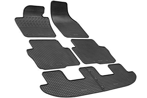 El Alfombra coche rigum902754, SEAT ALHAMBRA Volkswagen Sharan 7Plazas desde 2010- alfombrillas para sobre tamaño goma inodora.