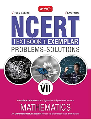 NCERT Textbook + Exemplar Problem Solutions Mathematics for Class 7