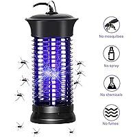 PECHTY Lámpara Mosquito Electrico, Lámpara antimosquitos UV Luz Lampara, Electrico Lámpara Anti Mosquitos para la Cocina la Sala de Estar el Cuarto de los Niños, Negro